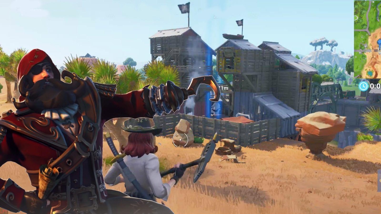 pirate cannon, Fortnite season 8