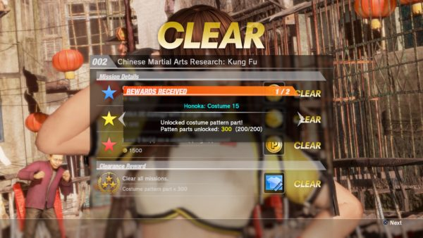 how to get costume parts in dead or alive 6