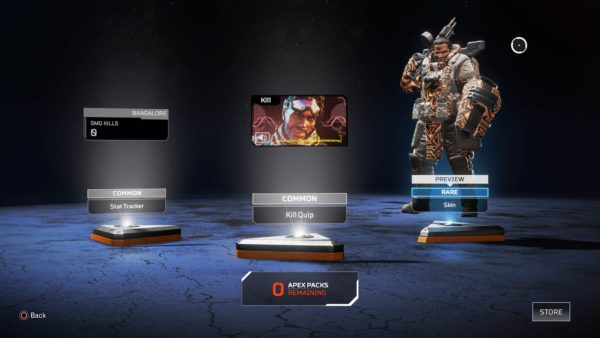 How to get new legend skins in apex legends