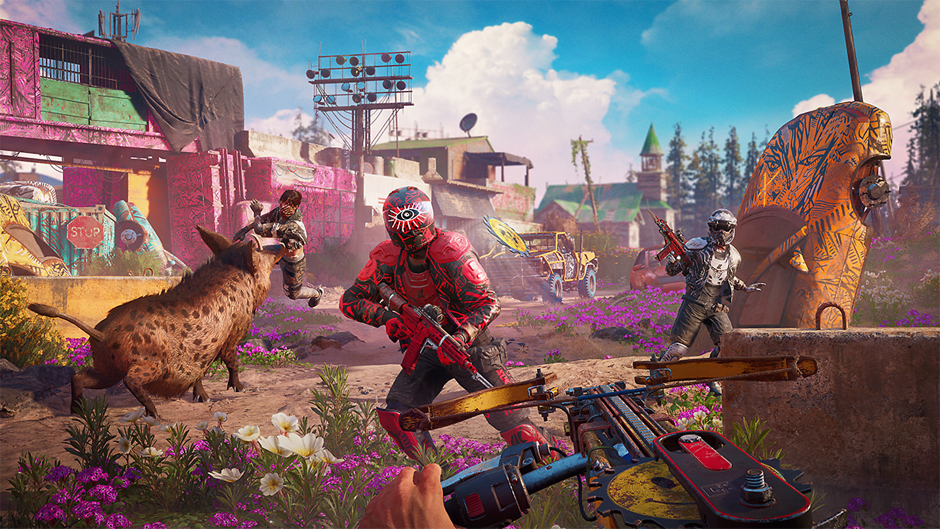 is far cry new dawn ps4 pro compatible