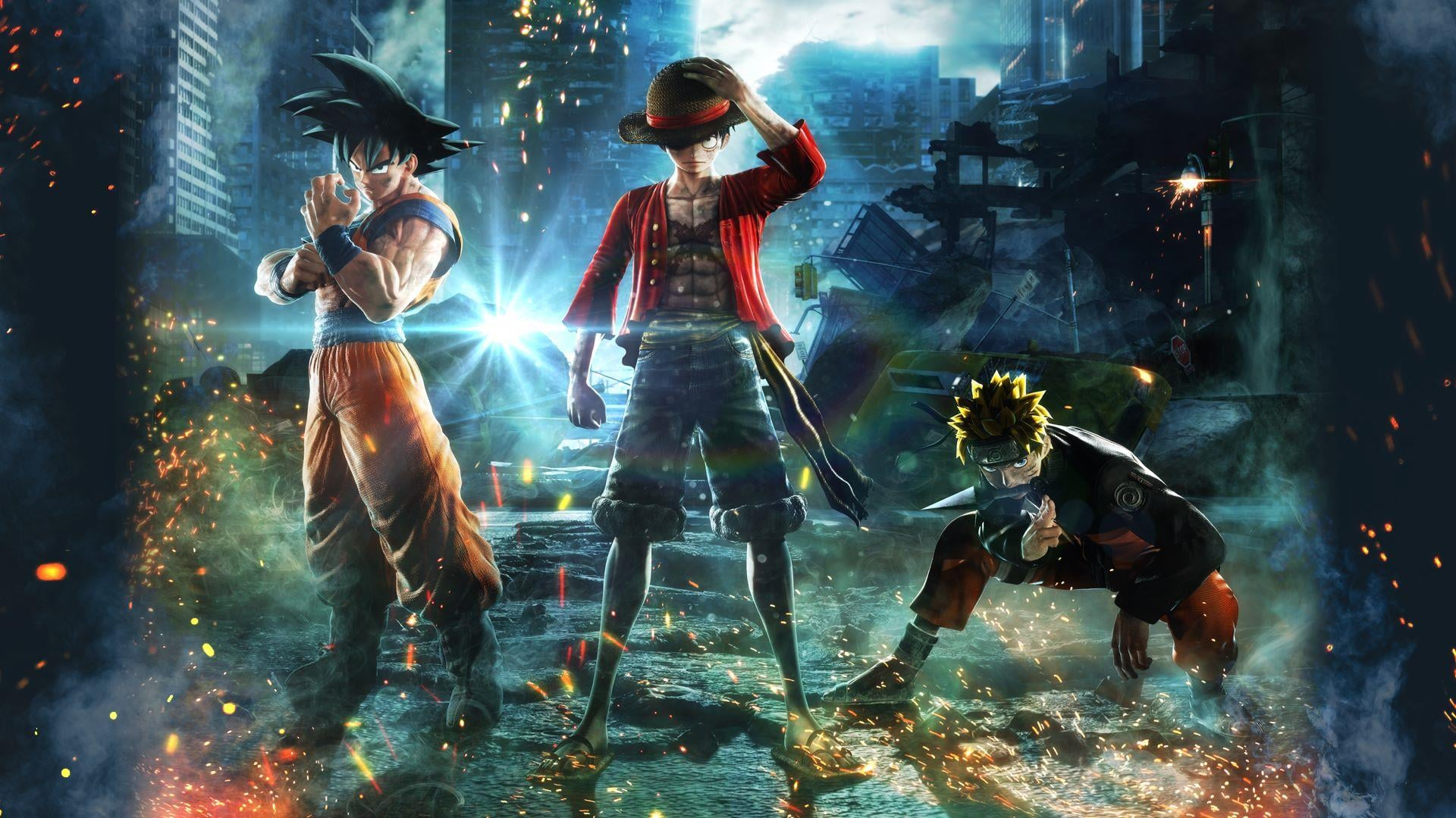 Jump Force, Change Clothes and Outfits