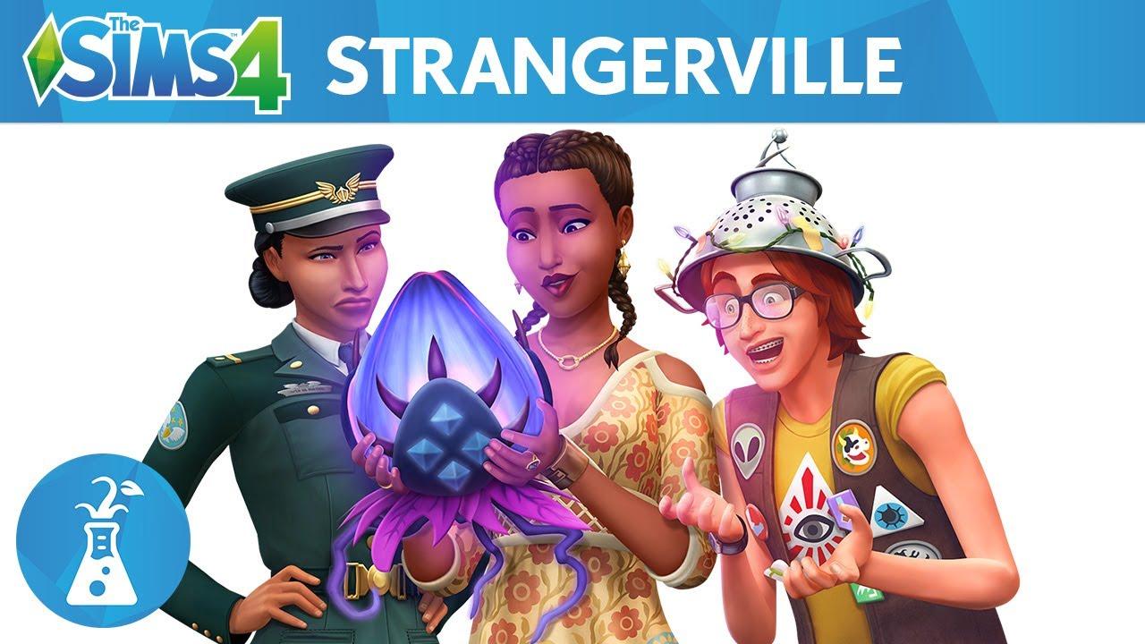 StrangerVille, Game Pack, Sims 4