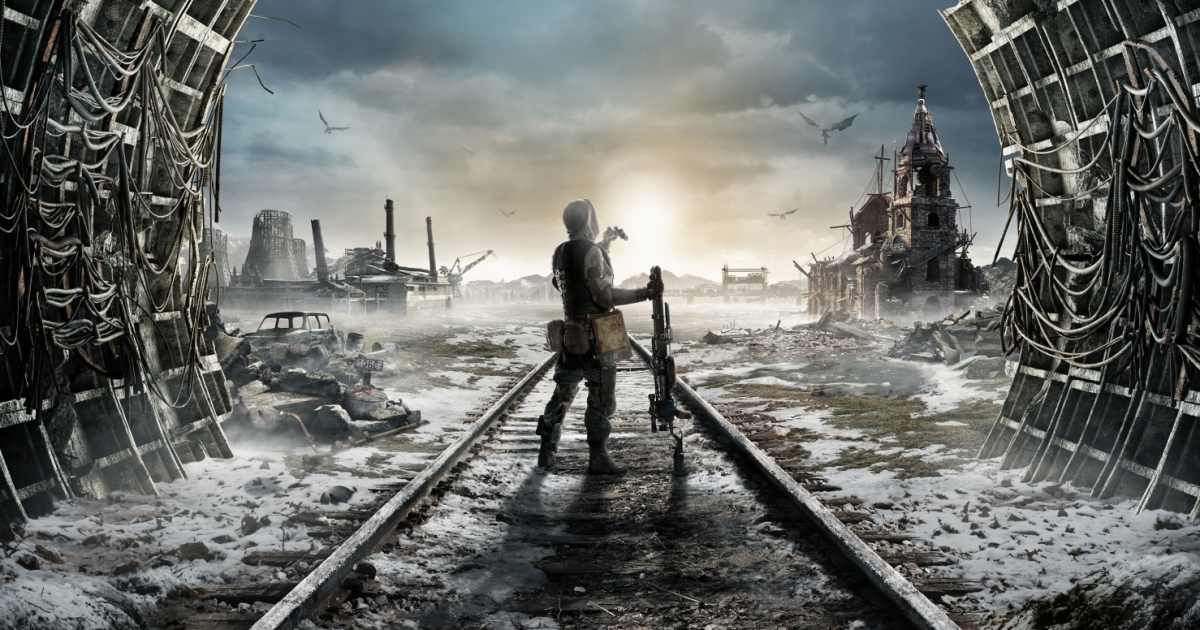 metro exodus, clean weapons