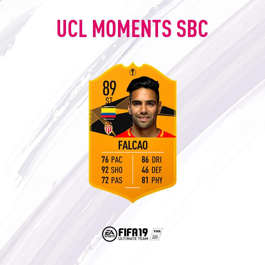 moments falcao sbc, fifa 19
