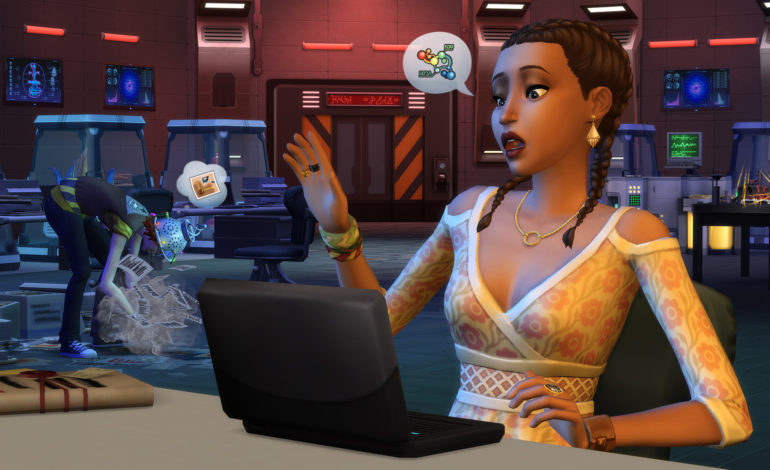 Sims 4 Strangerville, where to find laptop