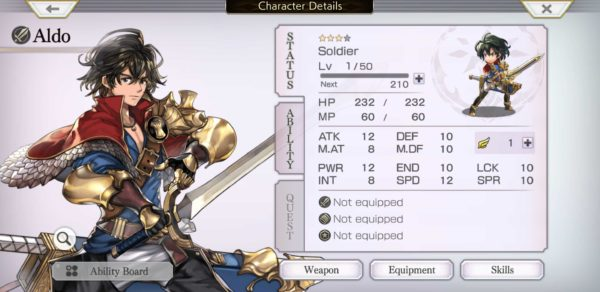 Another Eden, how to use scrolls