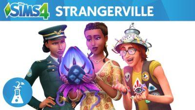sims 4, strangerville, secret