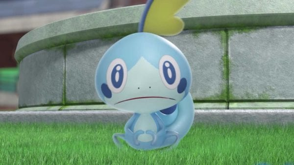 Sobble from Pokémon Sword and Shield