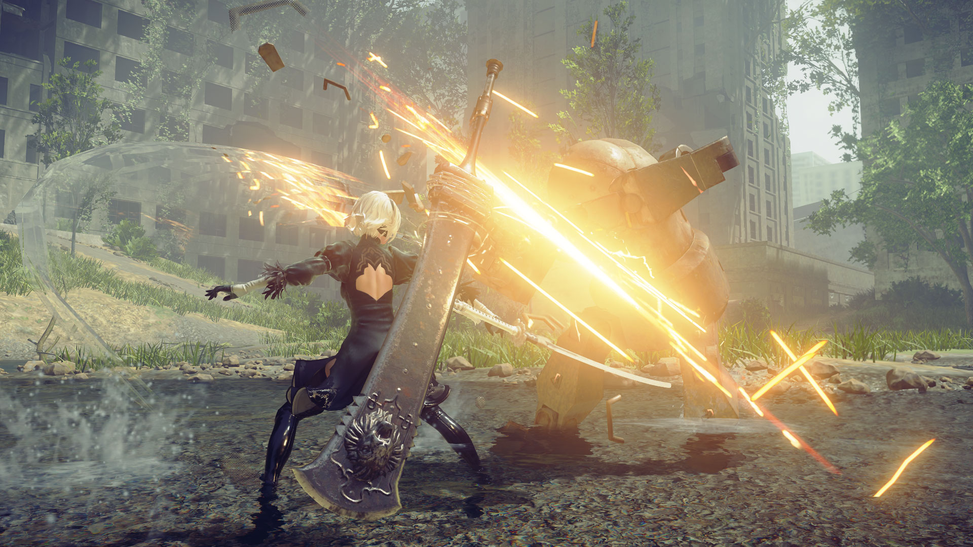 Nier: Automata, Nier, game of the yohra, year, edition, ps4, steam, new, trailer, features