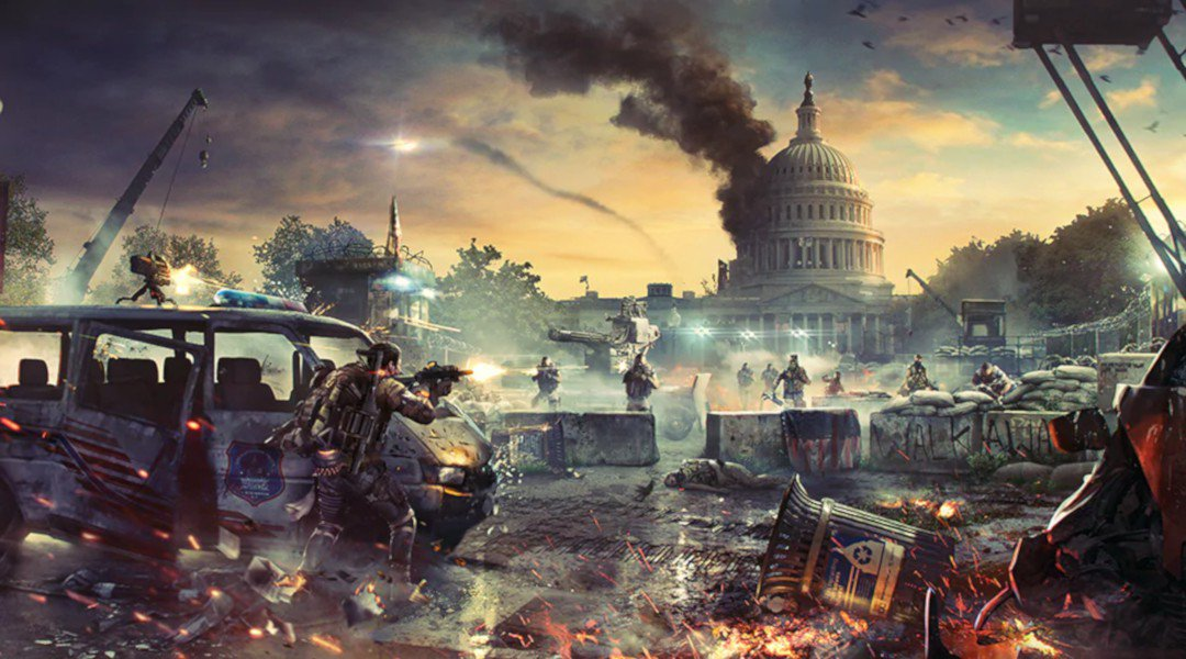 The Division 2, twitch