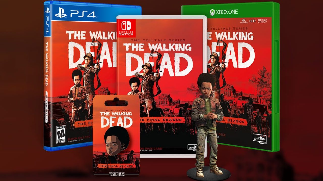 You Can Now Pre-Order Telltale's The Walking Dead: The Final