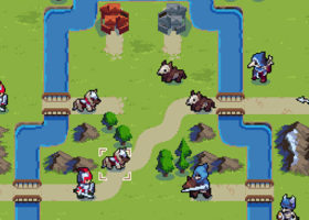 wargroove, arcade mode, characters, commanders
