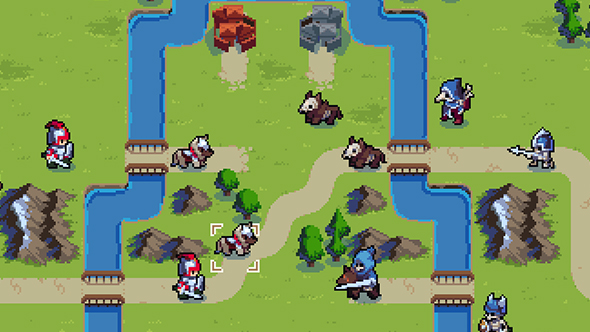 wargroove, arcade mode, characters, commanders