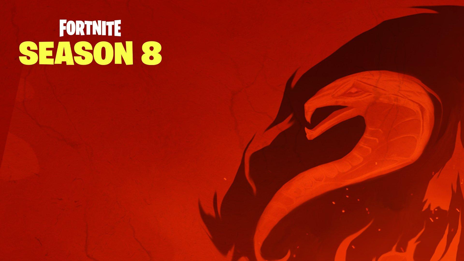 what Fortnite Season 8 map looks like