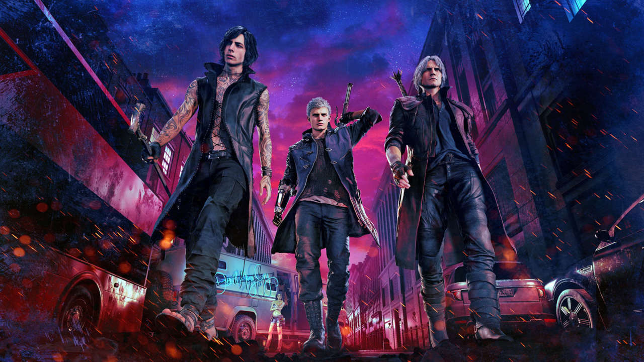 devil may cry 5, xbox one x enhancced