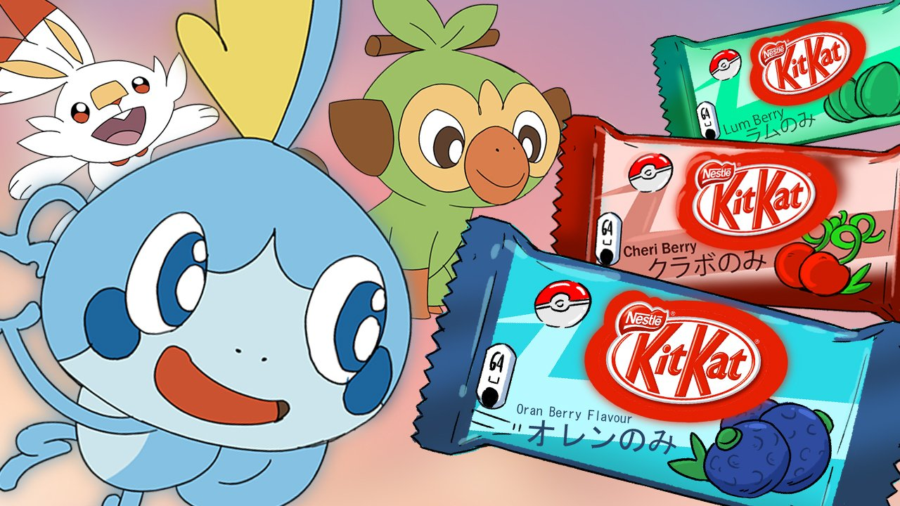 This Fan Made Pokemon Sword And Shield Kitkat Commercial Is 20