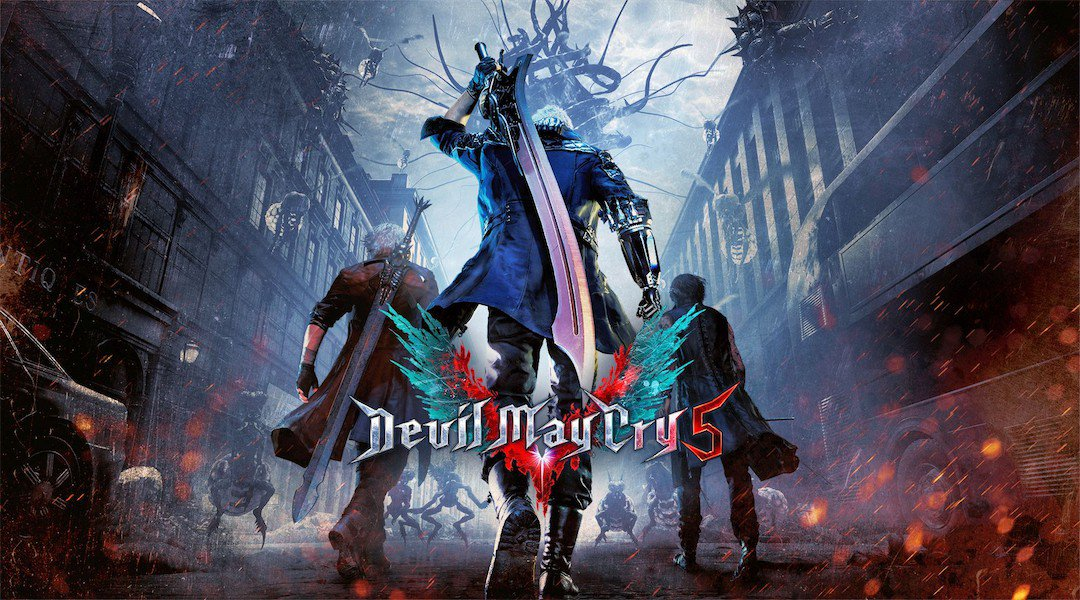 4k Backgrounds,Devil May Cry 5