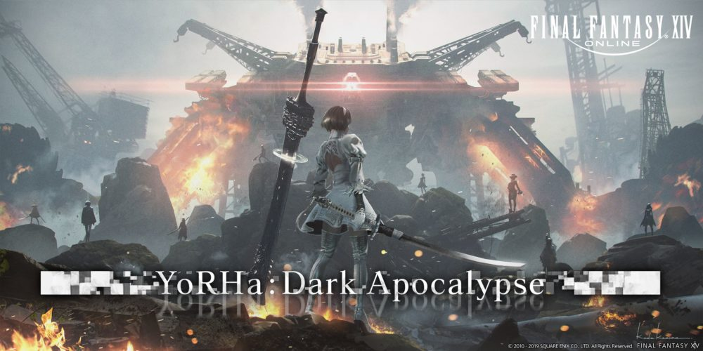 Final Fantast XIV, YoRHa: Dark Apocalypse, Yoko Taro