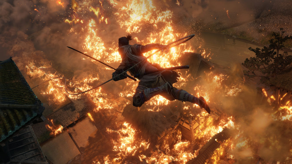how to beat shinobi hunter in sekiro