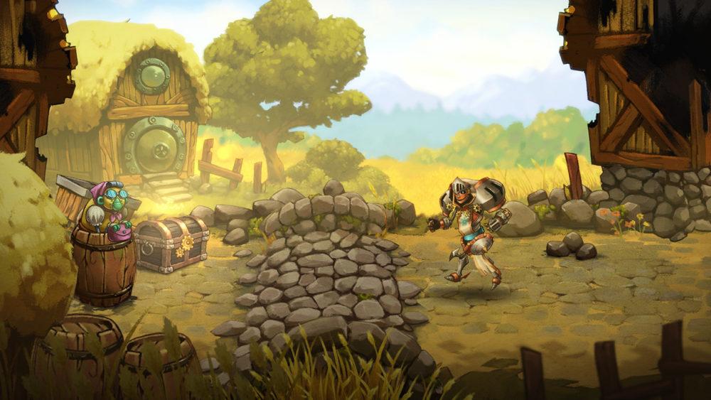 SteamWorld, SteamWorld Quest, RPG, release, date, switch, nintendo, image, new, april