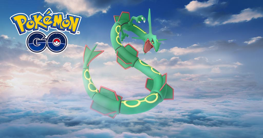 Pokemon GO, rayquaza, best counters
