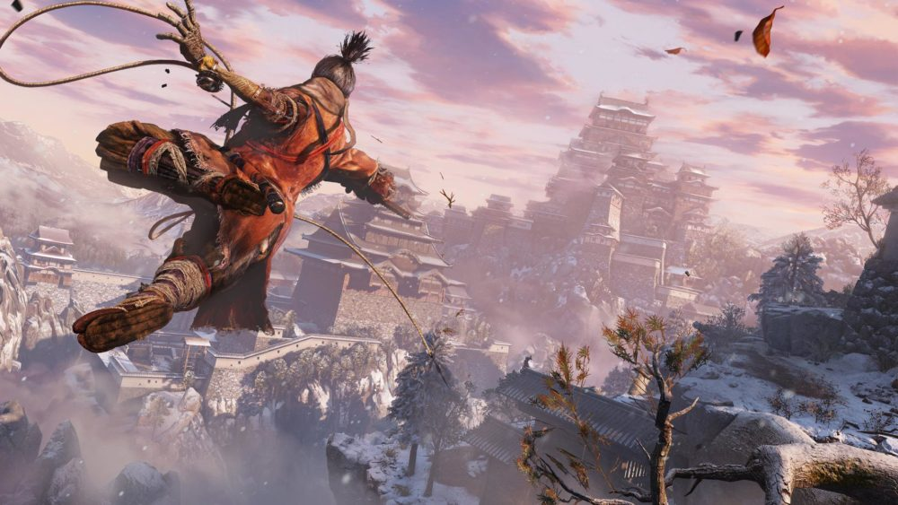 sekiro, shadows die twice, grappling hook, how to, grapple