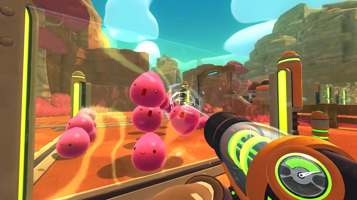 Slime Rancher, Epic Games Store, Free, Farming, First-Person, Monomi Park, Simulator, Casual