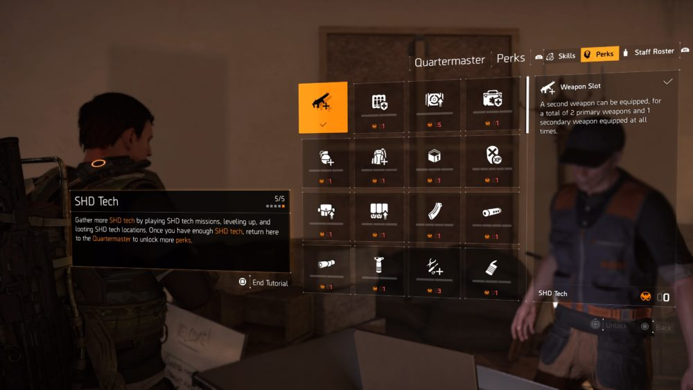 The Division 2 How to Get Perks & What They All Do