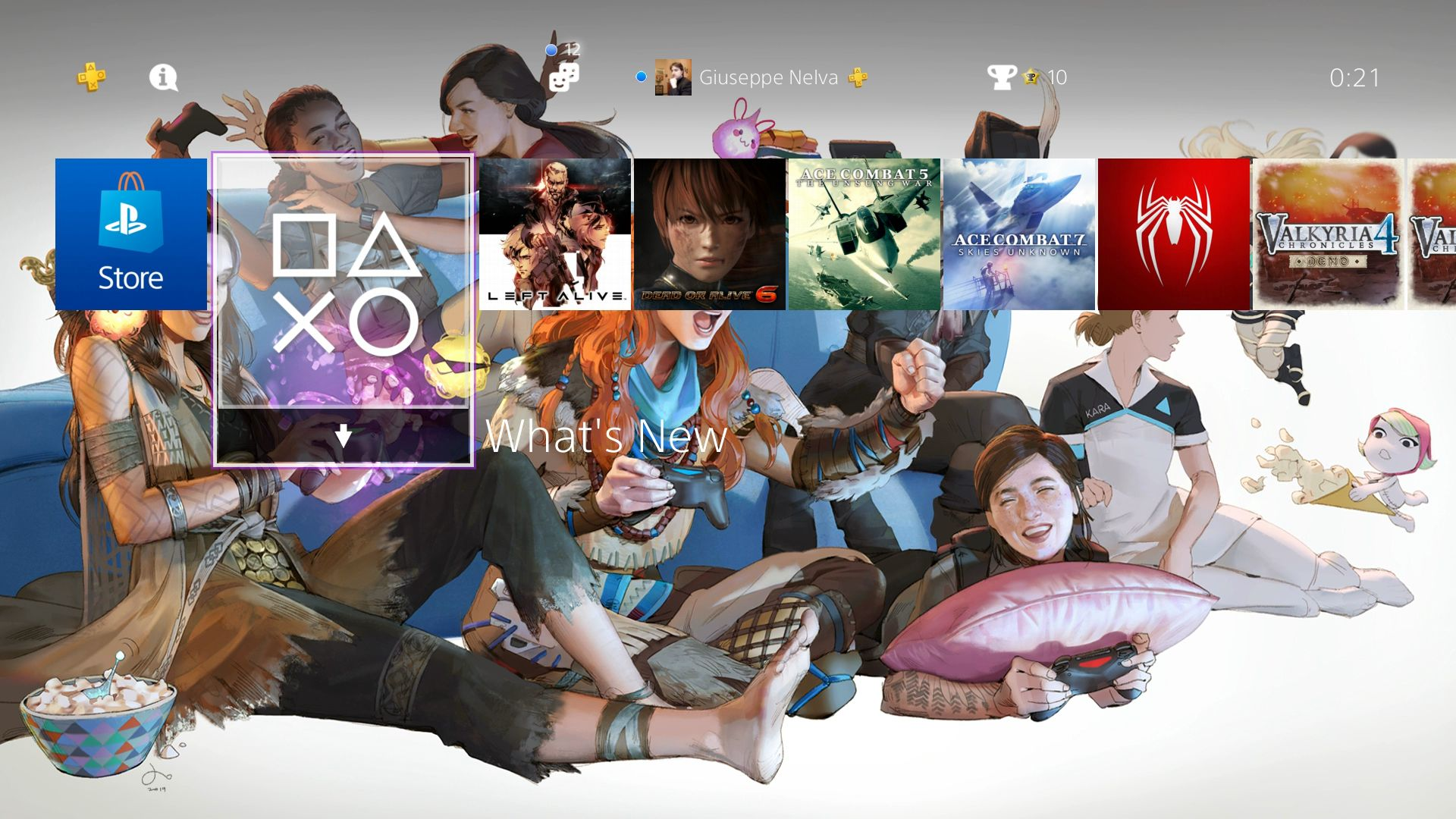 PS4 Theme International Women's Day