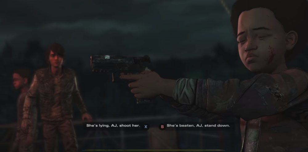 AJ Lilly shoot The walking dead