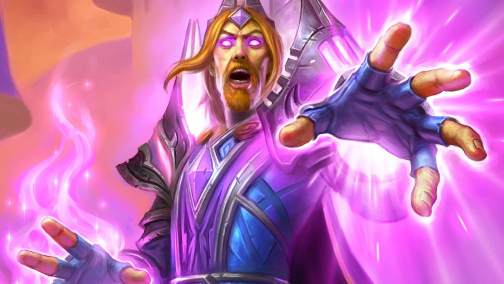 Hearthstone's Archmage Vargoth from Rise of Shadows