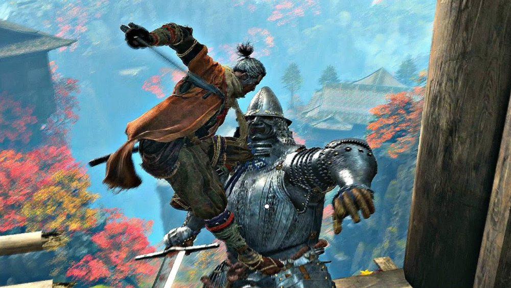 sekiro, armored warrior