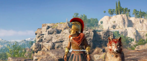 Assassin's Creed Odyssey, Pet the Dog