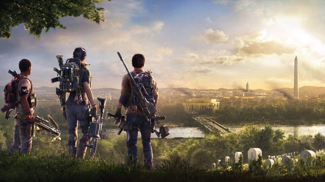 change weapons in division 2