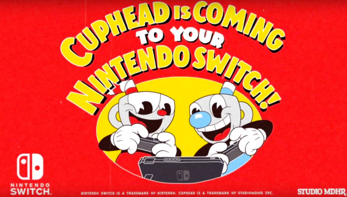 Cuphead, Nintendo Switch, Nindie Showcase