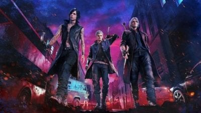 devil may cry 5, sprint