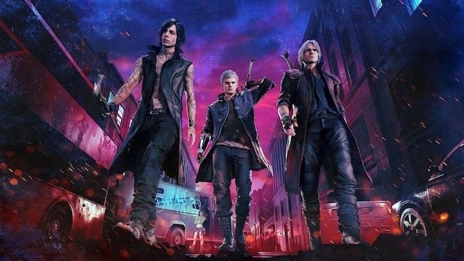 devil may cry 5, install size, japanese voices