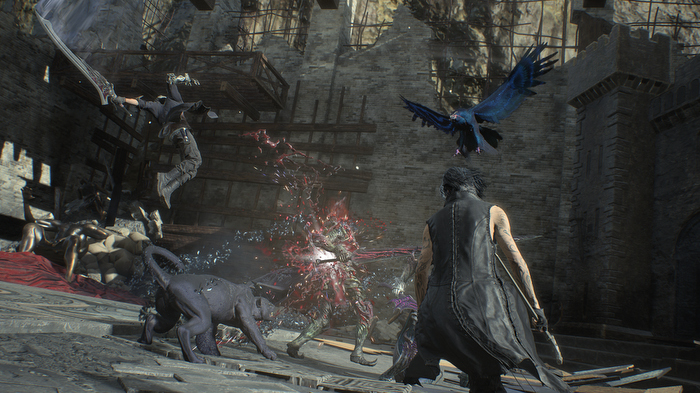 Devil May Cry 5, V, Familiars, Griffon, Shadow, revive, stalemate