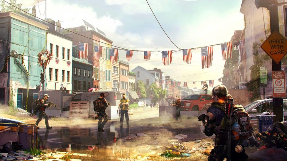division 2, co-op multiplayer