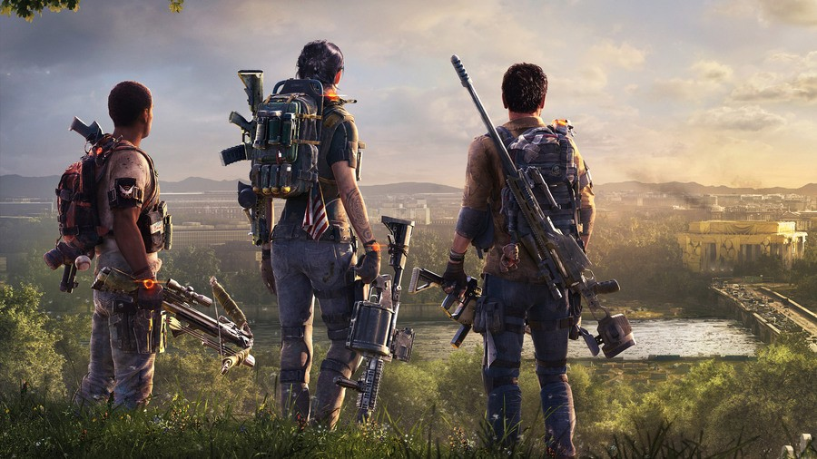 the division 2, new game, new agent, how to start, how to create