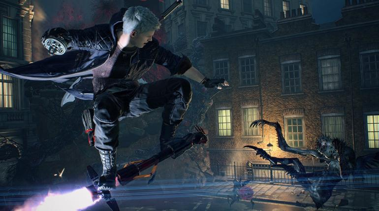 Devil May Cry 5, how to ride punch line