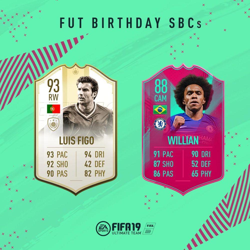 fifa 19, fut birthday willian sbc