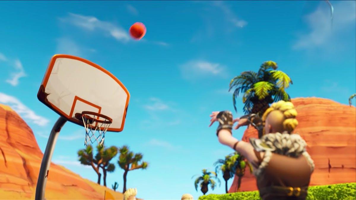 fortnite basketball