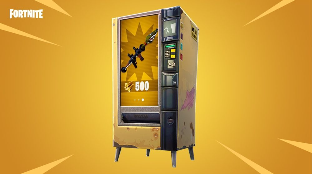 fortnite vending machine bug