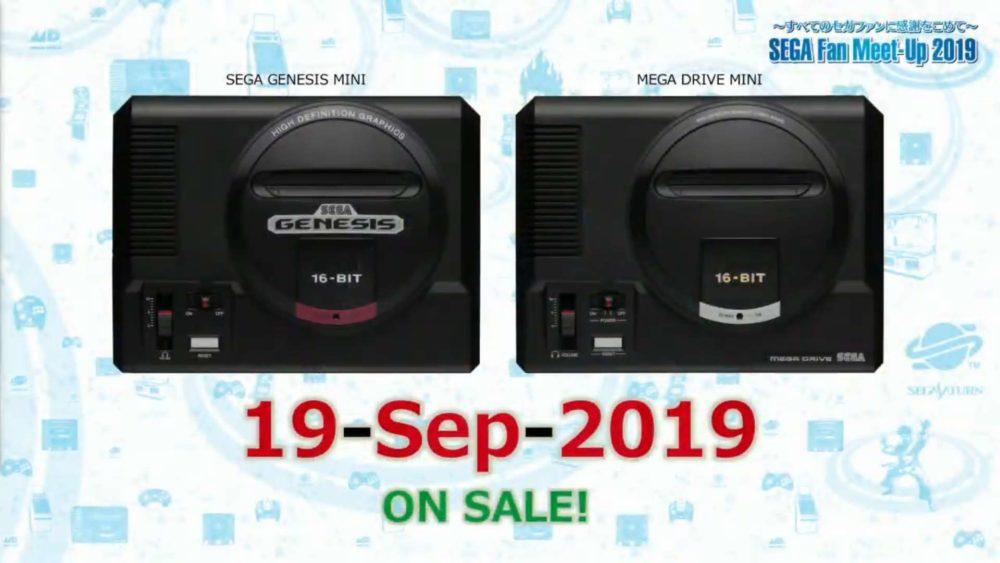 Genesis Mini, Sega, Sega Fan Fest