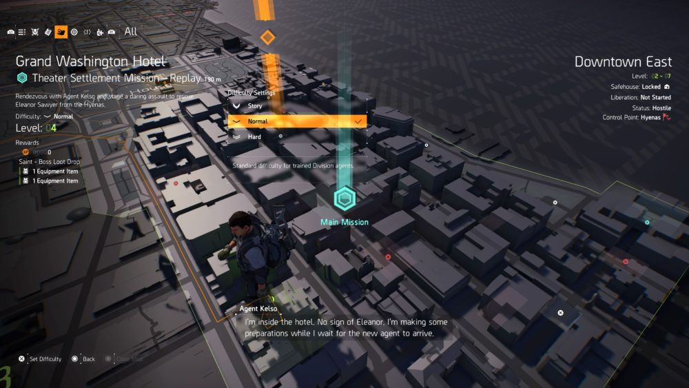 how to change difficulty in division 2