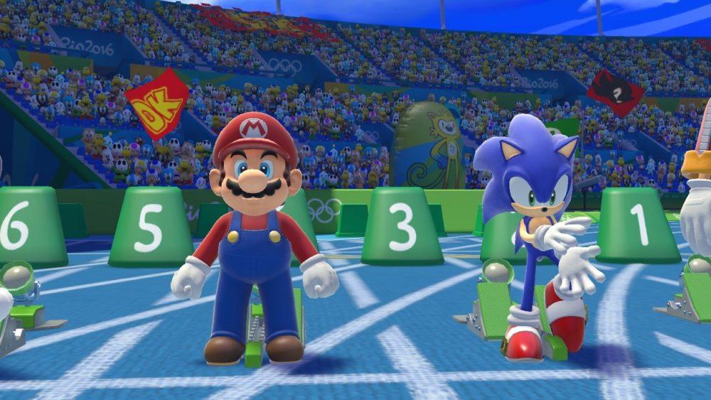 Mario, sonic, Olympic games