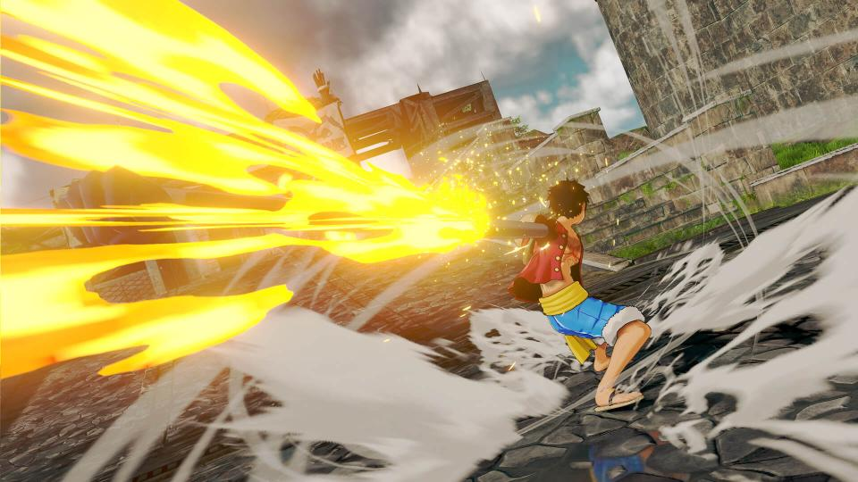 one piece world seeker, gum gum bazooka, how to use, how to learn, skill, luffy