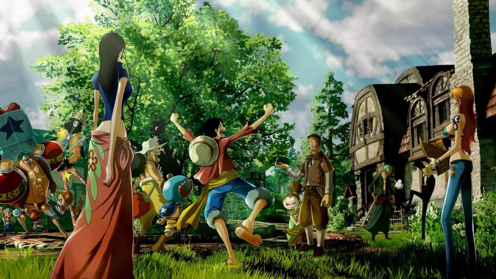 one piece world seeker, how to get, translucent green gems, green ore, mysterious ore mission, robin