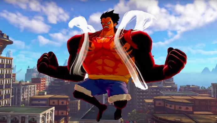 One Piece: World Seeker, Gear Fourth